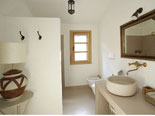 Bathroom in the Brač villa