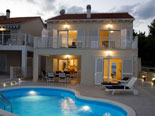 Modern villa with pool in Sumartin on Brac island Dalmatia Croatia