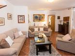 Living room in the 16th century Dubrovnik rental villa