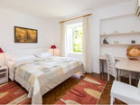First double bedroom on the first floor of this Dubrovnik holiday villa