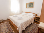 Second double bedroom on the first floor of this Dubrovnik villa for rent