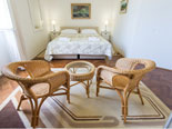 Fourth double bedroom on the first floor of this holiday villa in Dubrovnik