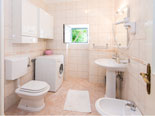 Another bathroom on the first floor in this villa for holiday in Dubrovnik