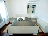 Double bedroom in this holiday villa with pool on Hvar isalnd