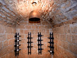 Wine cellar in Hvar holiday villa for rent