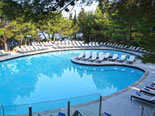 Outdoor pool in five stars Hotel Croatia in Cavtat - Dubrovnik