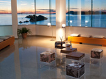 Sunset lounge in the five stars Hotel Dubrovnik Palace
