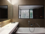 Presidential suite bathroom at the five stars and design hotel Lone in Rovinj Istria Croatia