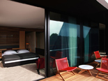Grand room at the five stars and design hotel Lone in Rovinj Istria Croatia