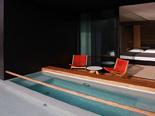 Jazz room at the five stars and design hotel Lone in Rovinj Istria Croatia