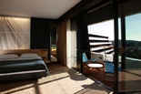 Superior room at the five stars and design hotel Lone in Rovinj Istria Croatia