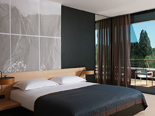 Premium room at the five stars and design hotel Lone in Rovinj Istria Croatia