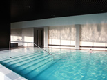 Indoor pool at the five stars and design hotel Lone in Rovinj Istria Croatia