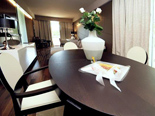 Dining room in Presidential suite at Hotel Meliá Coral Adults Only in Umag Istria