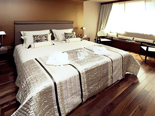 Bedroom in Presidential suite at Hotel Meliá Coral Adults Only in Umag Istria