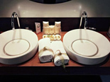 Bathroom in Presidential suite at Hotel Meliá Coral Adults Only in Umag Istria