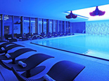 Indoor pool at Hotel Meliá Coral Adults Only in Umag Istria