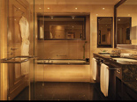 Luxury suite bathroom at the five stars Kempinski Hotel Adriatic Istria Croatia