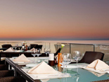 Restaurant Kanova terrace at the five stars Kempinski Hotel Adriatic Istria Croatia