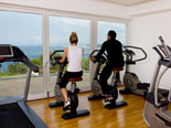 Fitness centre at the five stars Kempinski Hotel Adriatic Istria Croatia