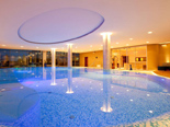 Indor pool at SPA in the five stars Kempinski Hotel Adriatic Istria Croatia