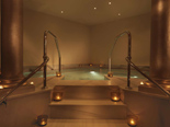 Roman bath at SPA in the five stars Kempinski Hotel Adriatic Istria Croatia