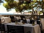 Bistro Giardino terrace in luxury Hotel Villa Dubrovnik