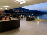 The view from the terrace of the Rixos Libertas Dubrovnik - the luxury hotel in Dubrovnik
