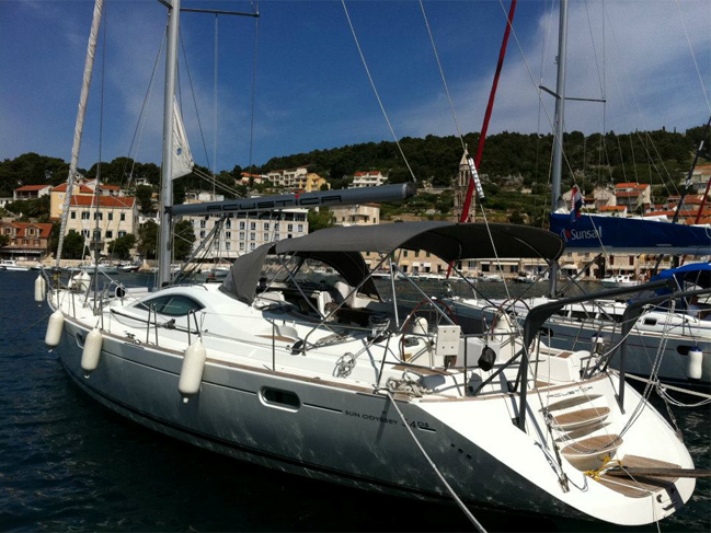 Jeanneau Sun Odyssey 54 Ds A Sailing Yacht For Charter In Split