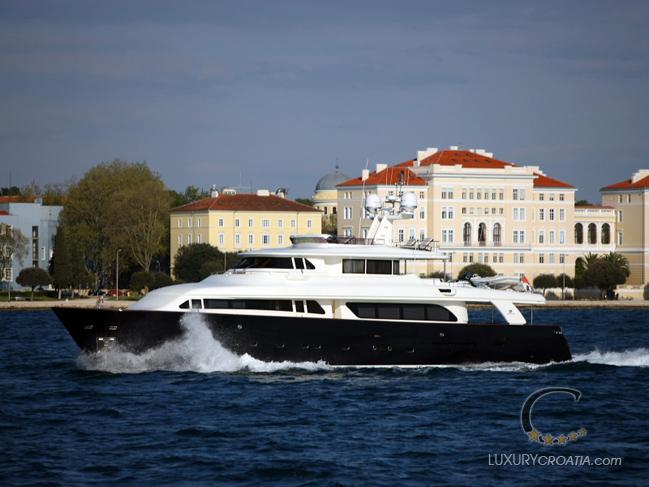 Navetta 30 custom line luxury yacht charter croatia Cabin charter croatia