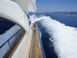 Azimut 80 detail - luxury motor yacht for charter Croatia in Sibenik and Dalmatia