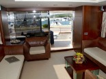 Azimut 80 salon - luxury motor yacht for charter Croatia in Sibenik and Dalmatia