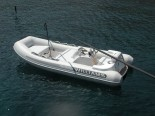 Jetboat Williams Novurania 5,50m on Azimut 80 - luxury motor yacht for charter in Sibenik and Dalmatia