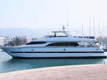 Elegance 82 is a  luxuy yacht for charter in Croatia