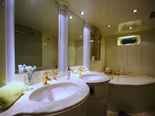 Bathroom on the Elegance 82 yacht for charter in Croatia