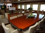Master salon on luxury yacht for charter - 6 cabins / sleeps 12