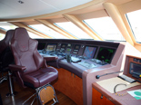 Cockpit of the luxury yacht for charter 6 cabins / sleeps 12 with home port in Zadar