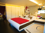 Luxury master cabin on the exclusive 50 m mega yacht for charter in Croatia based in Split