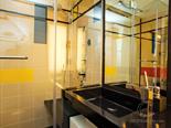 Twin cabin bathroom on the luxury mega yacht for charter in Croatia based in Split
