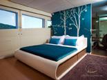 Double cabin on the luxury charter mega yacht in Croatia based in Split