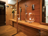 Sauna on the luxury charter mega yacht in Croatia based in Split