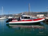 Tender boat for the luxury charter mega yacht in Croatia based in Split