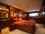 Double cabin on Navetta 30 Custom Line a luxury yacht for charter in Croatia