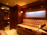 Twin cabin on Navetta 30 Custom Line a luxury charter yacht in Croatia