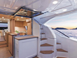 Ferretti 620 a luxury yacht for charter in Dubrovnik and Croatia